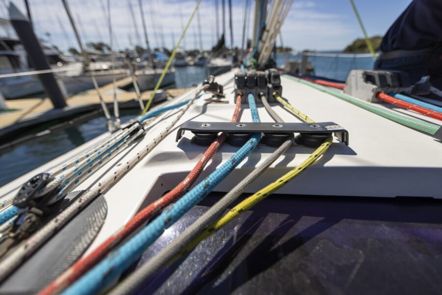 Queensland yacht racing club Bribie Cup ropes moreton daily